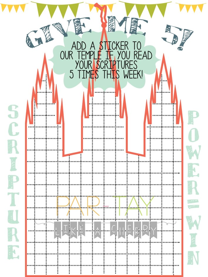 free printable scripture reading chart