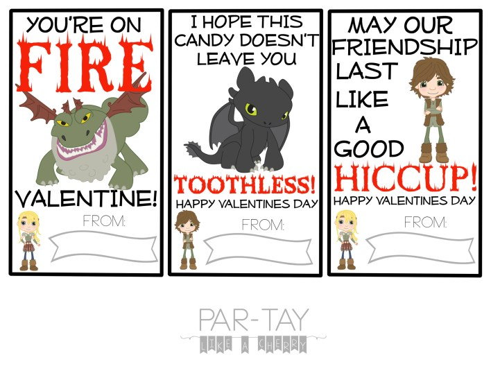how to train your dragon valentines day cards from only clipart version