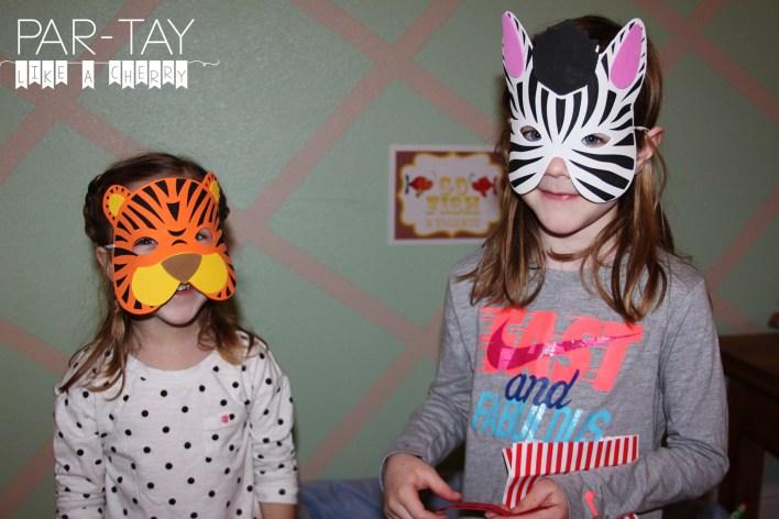 animal masks photo