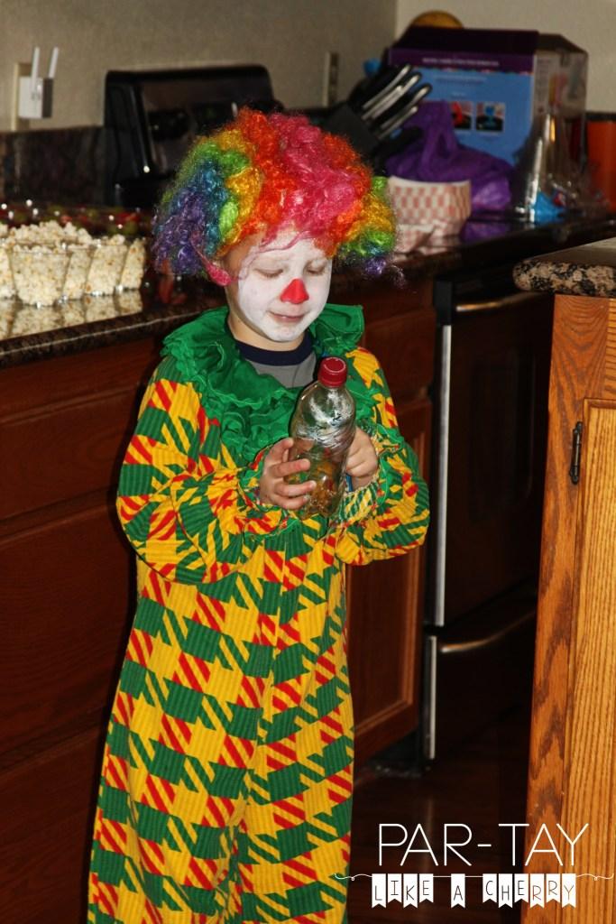 clown entertainment at circus party