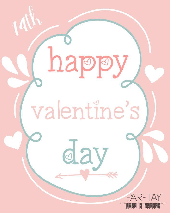 free printable valentine's day 8X10 print