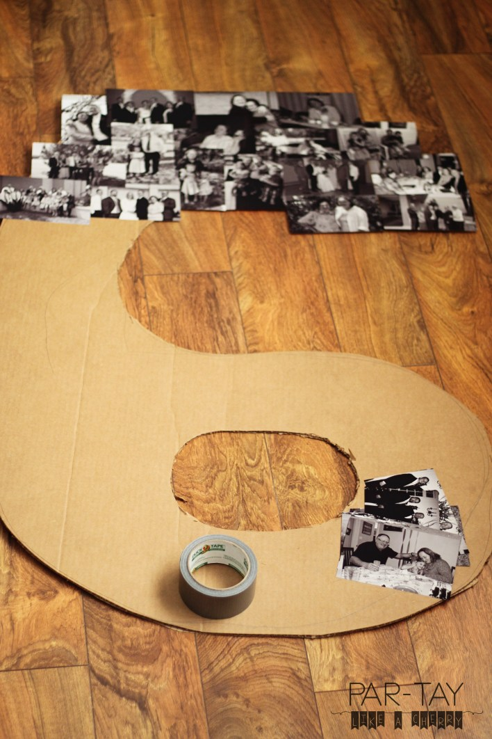 how to make a huge number collage
