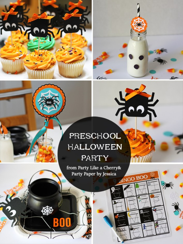 Preschool and Kindergarten Halloween Party ideas and free printables