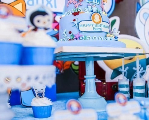A Summer Theme Birthday Party For A 6 Years Old Girl Partymaker Cn