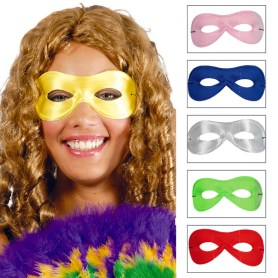 Colored eye mask
