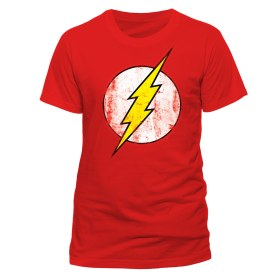 Flash t-shirt distressed logo