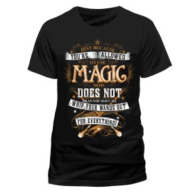 Harry Potter magic wands t-shirt