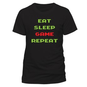 Game repeat t-shirt
