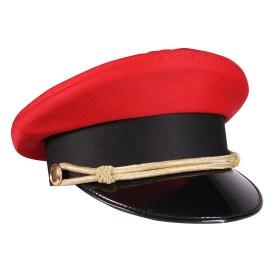 Red porter hat