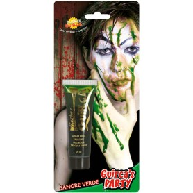 Green zombie blood tube