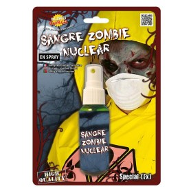 Nuclear zombie blood spray