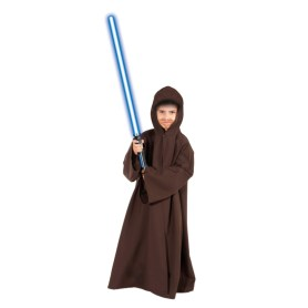 Brown cloak/robe with hood 116 cm