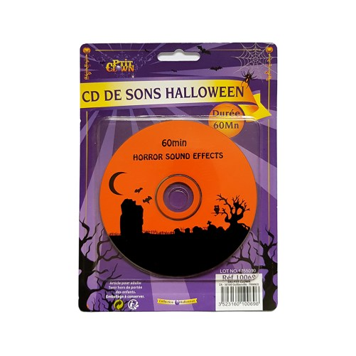 Horror sound effects CD