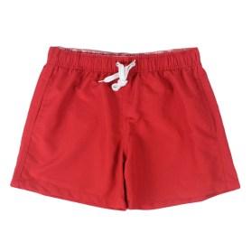 Red lifeguard shorts