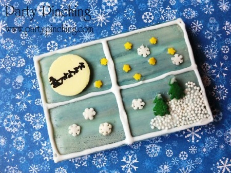 christmas dessert ideas, kit kat, christmas window pane, christmas cookie idea, easy christmas dessert,