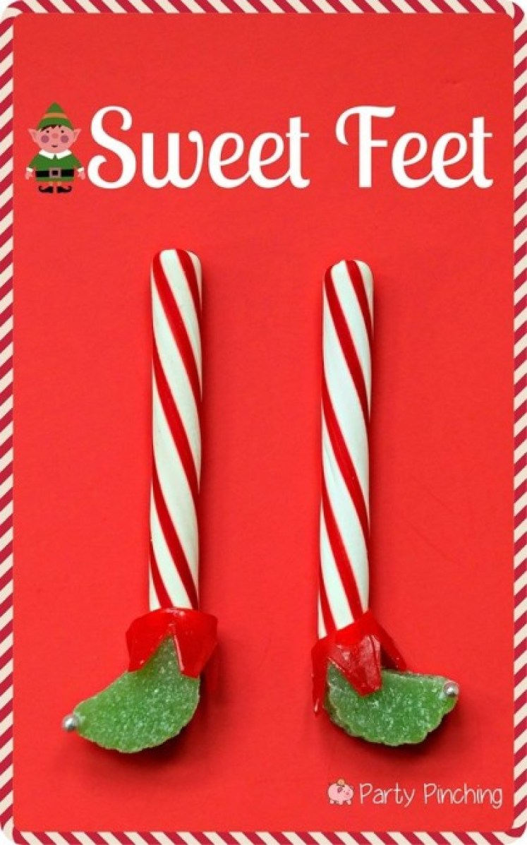 elf treat, elf dessert, easy christmas dessert craft