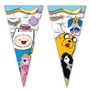 Adventure Time Party Cone Cello Bags