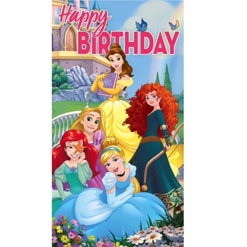 Disney Princesses Happy Birthday Greeting Card