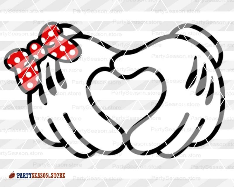 Download Minnie hands Mickey hands