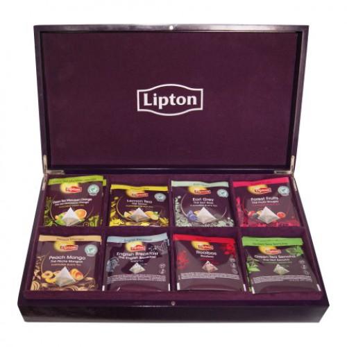Lipton Theedoos gevuld