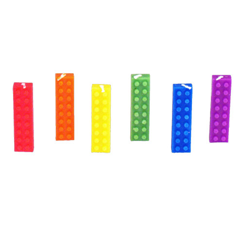 Lego Blocks Party Candles Birthday Gay Party Decorations