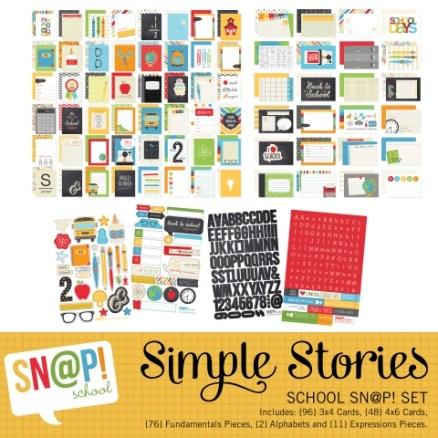 School digital snap set