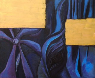 Acrylic on canvas, 100 x 120 cm, 2008
