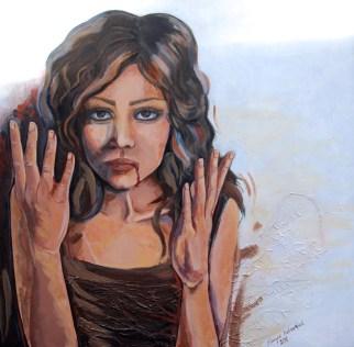 Mixed media on canvas, 100 x 100 cm, 2011