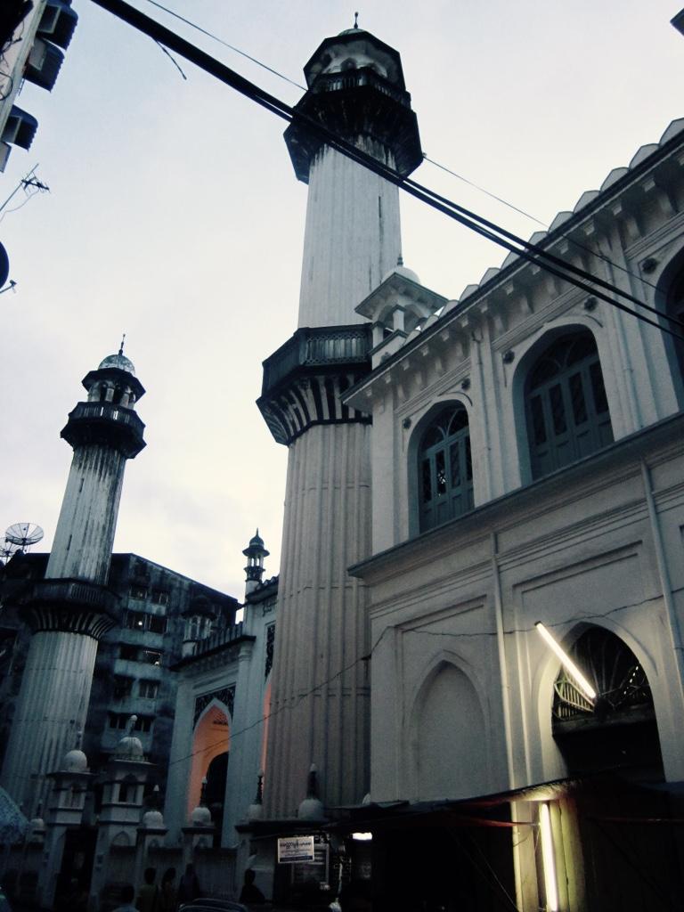 Barrio musulmán Yangón
