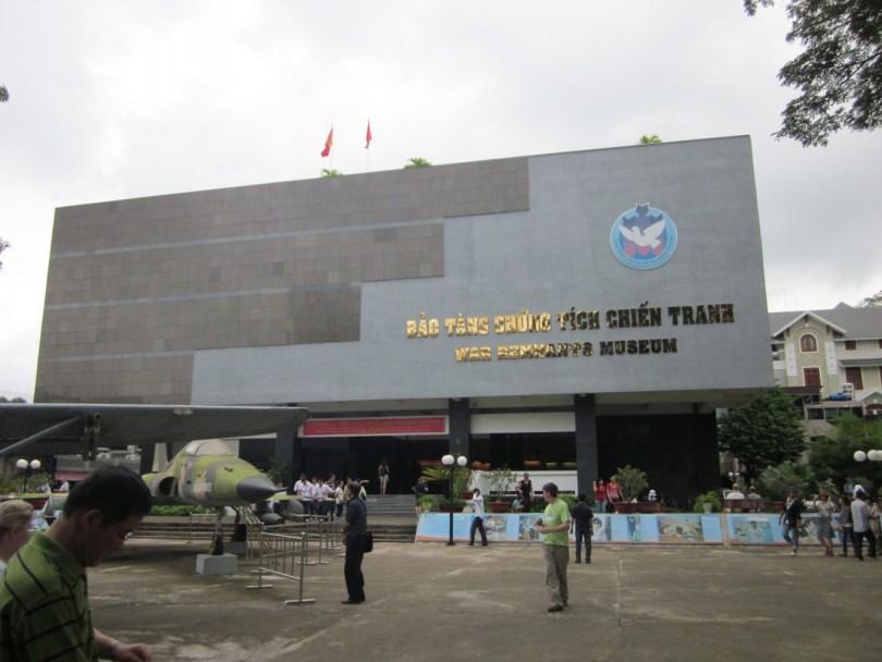 Museo de los recuerdos de la guerra saigón