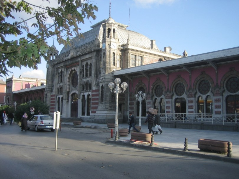 Estación de trenes Estambul