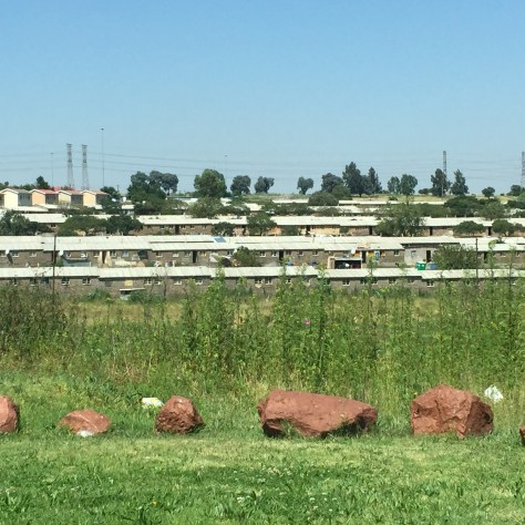 Casa mineros Soweto