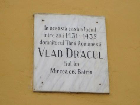 Vlad Dracul Sighisoara