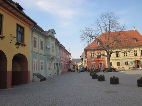 Plaza Sighisoara