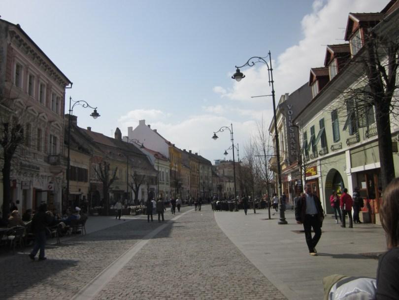 Boulevard Nicolae Balcescu Sibiu