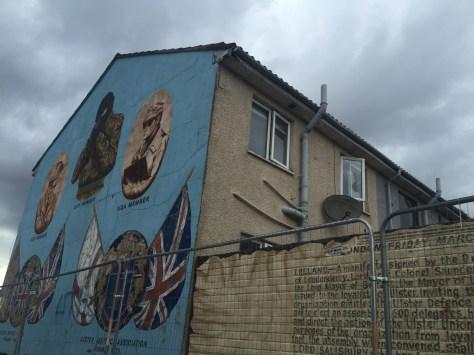 Belfast barrio protestante