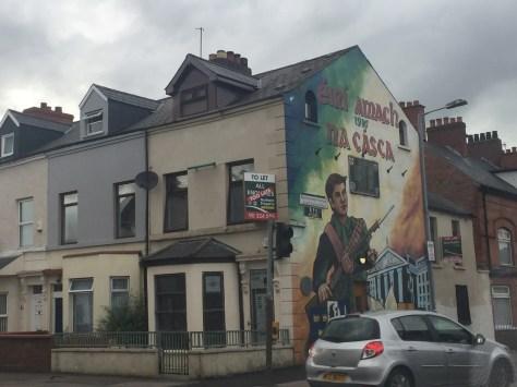 Barrio católico Belfast