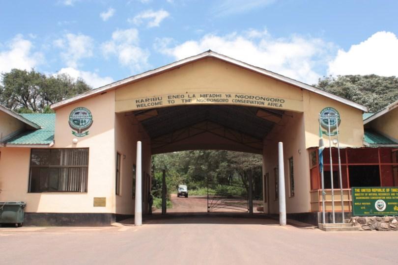 Entrada area de conservación Ngorongoro