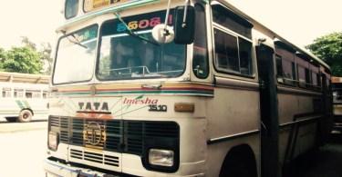 Transporte Sri Lanka