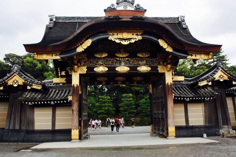 castillo nijo jo de kioto y los jardines ninomaru