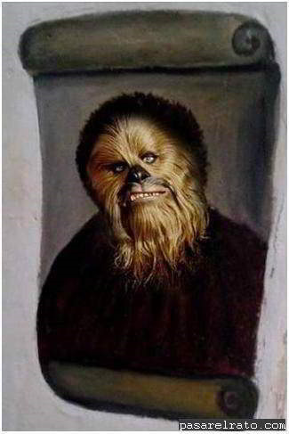 Ecce Homo Chewbacca
