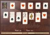 Juego de cartas Solitario llamado Klondite