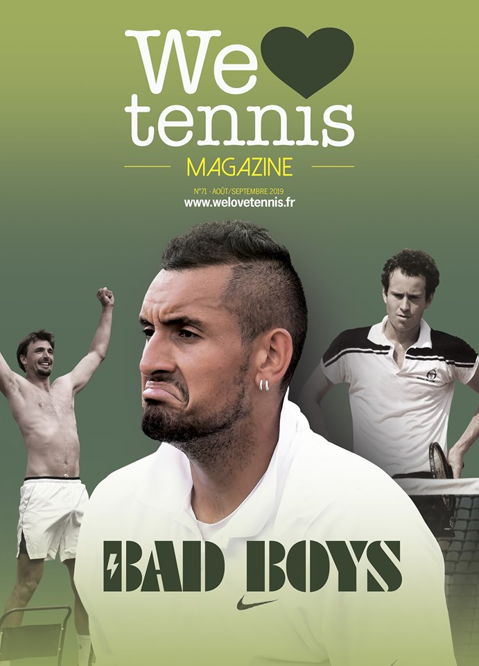 We love tennis 71 interview Pascal Aubrit Bad Boys