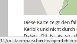 URL in Firefox