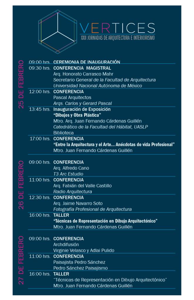 Programa General Vertices Conferencia Febrero 2015
