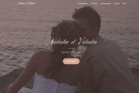 pascale-simonnet.fr - Acciel site Faire-part de mariage