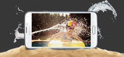 Galaxy-S5 à l'épreuve de l'eau