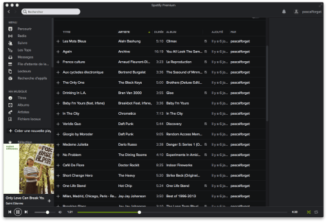 Spotify Canada Pascal Forget