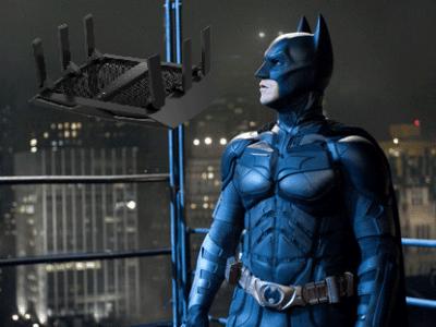 Un routeur digne de Batman.