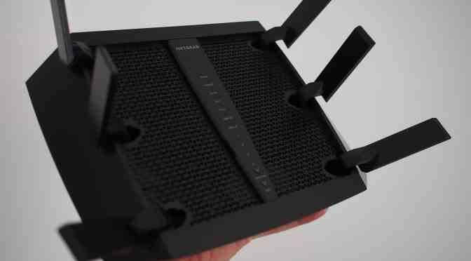 Le super routeur Nighthawk X6 AC3200